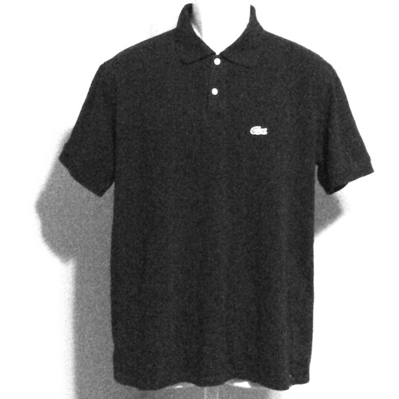 12446a07856ea Lacoste Other - Lacoste Black Polo Size 8